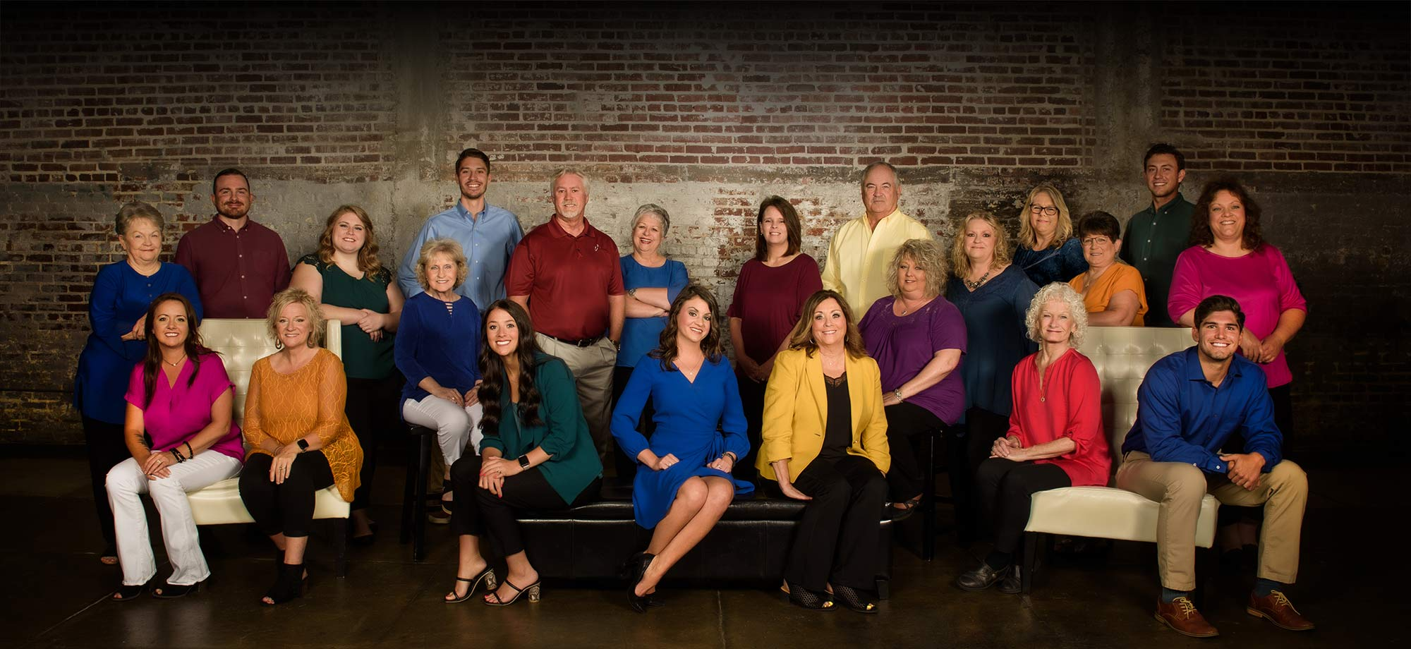 Ott Insurance associates group photo